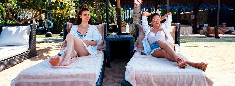 By the poolside bar, Bali - Kodak Ektar 100
