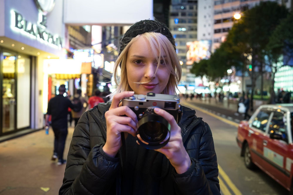 Leica 35mm f/1.4 Summilux AA - ISO 1600 - The 50 Noct AA makes for a better subject than the 35 Lux AA.