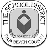 Palm Beach School District Logo BW.png
