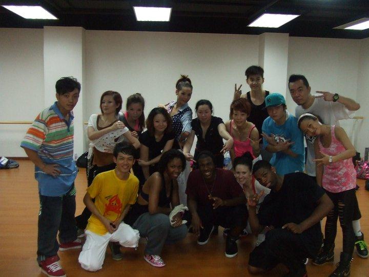 Teaching in China.