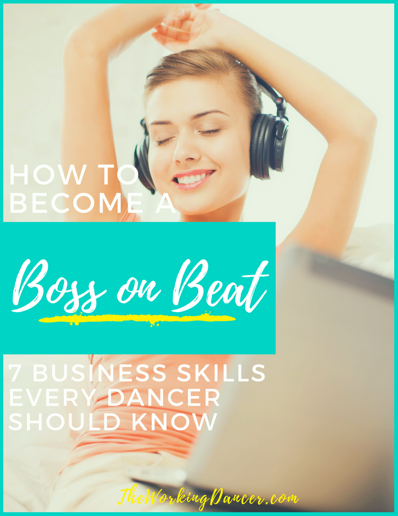 how to become a boss on beat dance career tips the working dancer