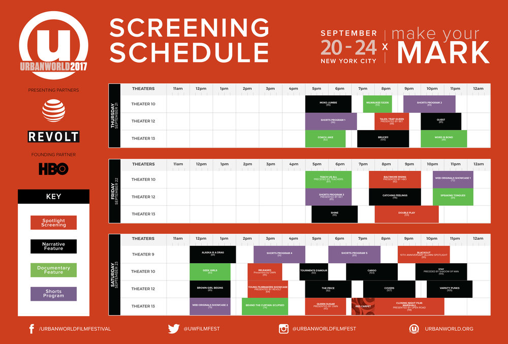 Click to view screening schedule or download the PDF.