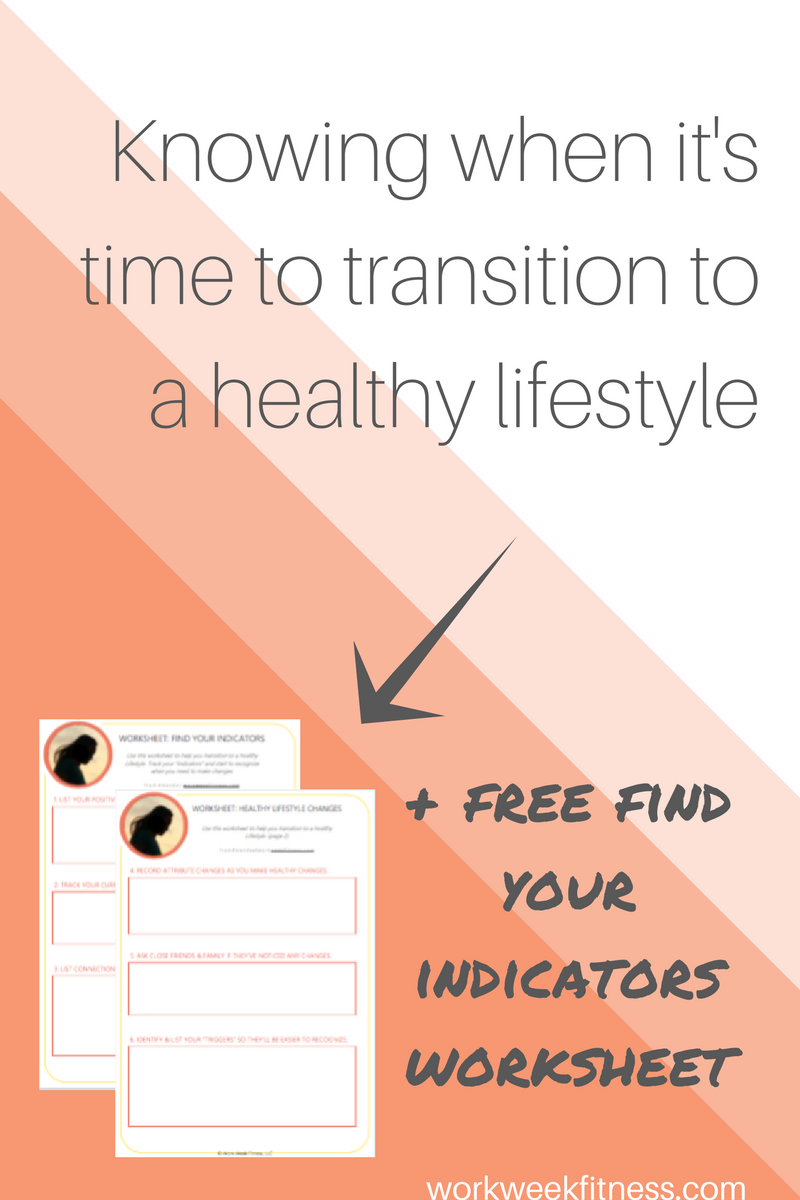 Are you tired of feeling fat? Frustrated because you can't stop eating junk food? If you're not sure whether it's time for change, you need to click to read this. You can also snag the free worksheet after you click on the image.