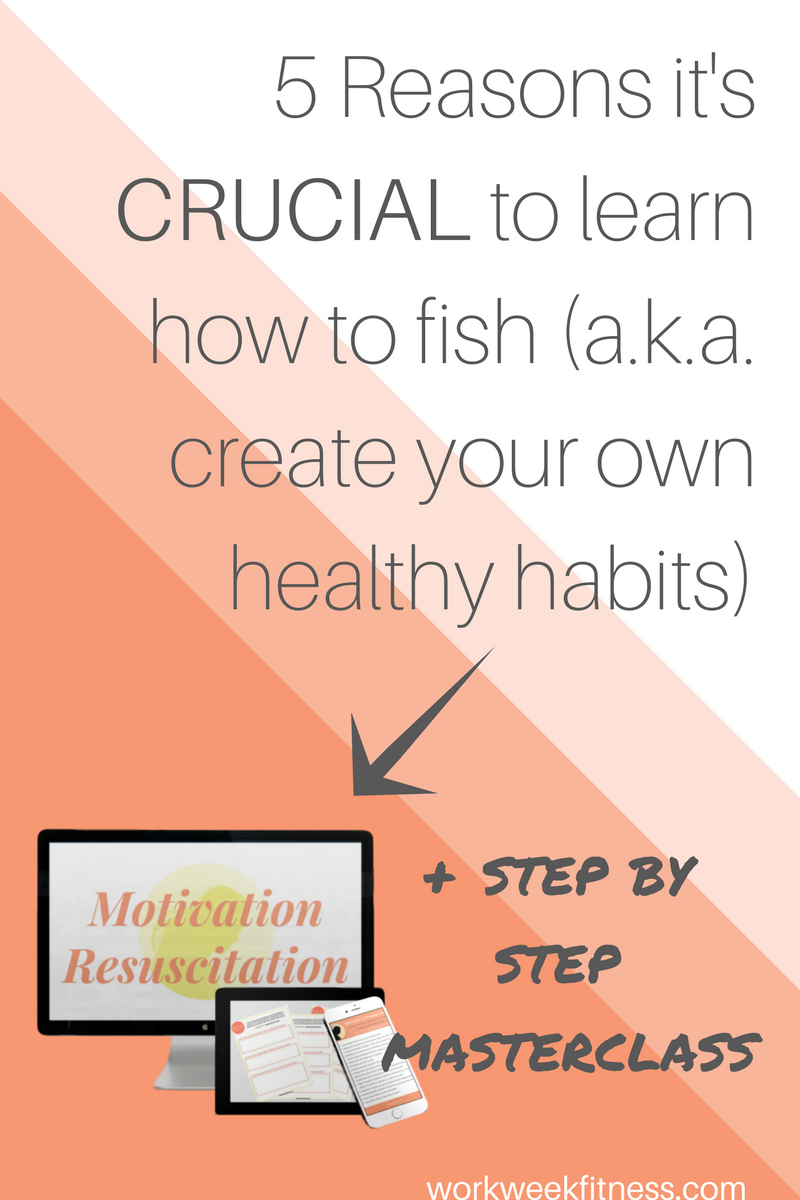 Ever think to yourself: maybe the diet will work this time? It won't. It's absolutely crucial to learn how to create healthy habits on your own. Click to read the 5 specific reasons a healthy lifestyle is crucial. Plus, a step by step course to help you get there on your own.