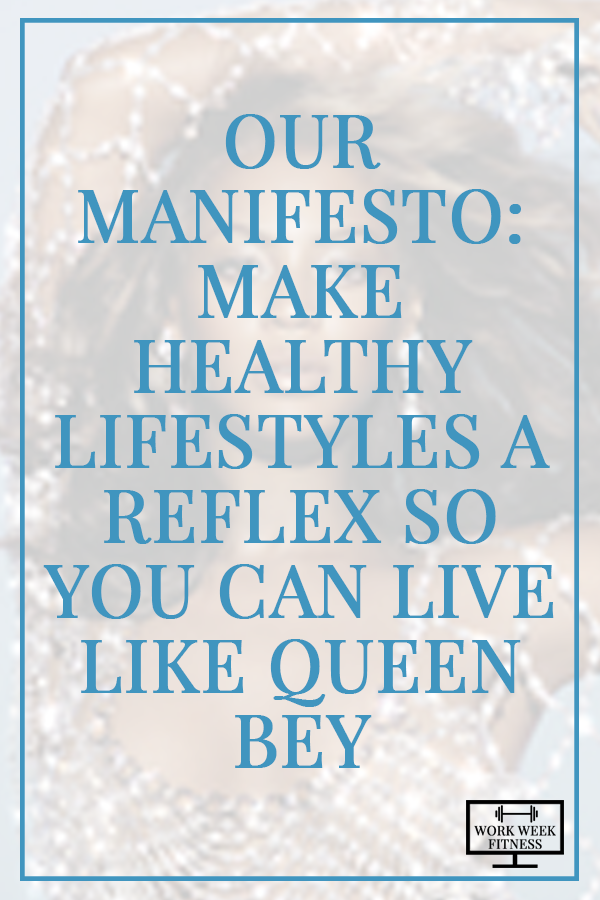 Ready to create such natural healthy habits that you get to spend your time on friends, family & living like Queen Bey instead of worrying about what to eat and how to exercise? It's not a trick. Click to read the full post.