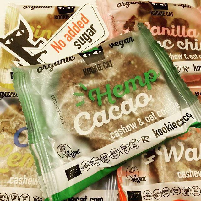 nieuwe tussendoortjes @ foodmotionnl #snack #atwork #glutenvrij #organic #avondsnack