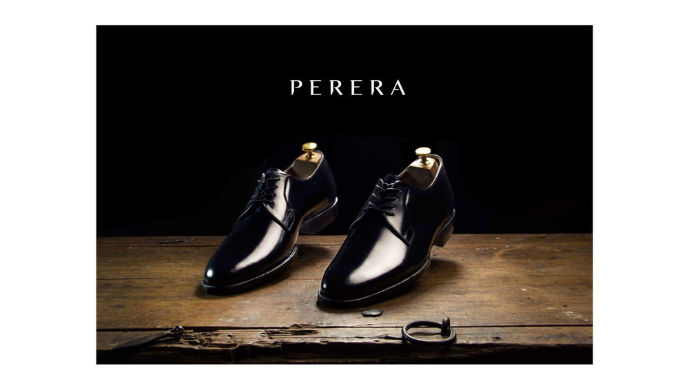 Photoshoot for  PERERA  Shoemaker with Javier Bolaños