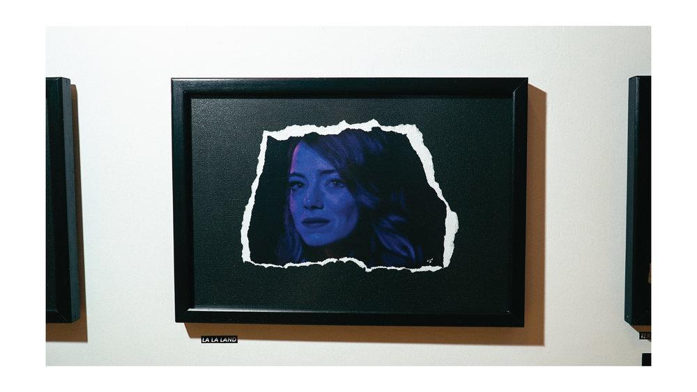 A lil digital painting of  La La Land