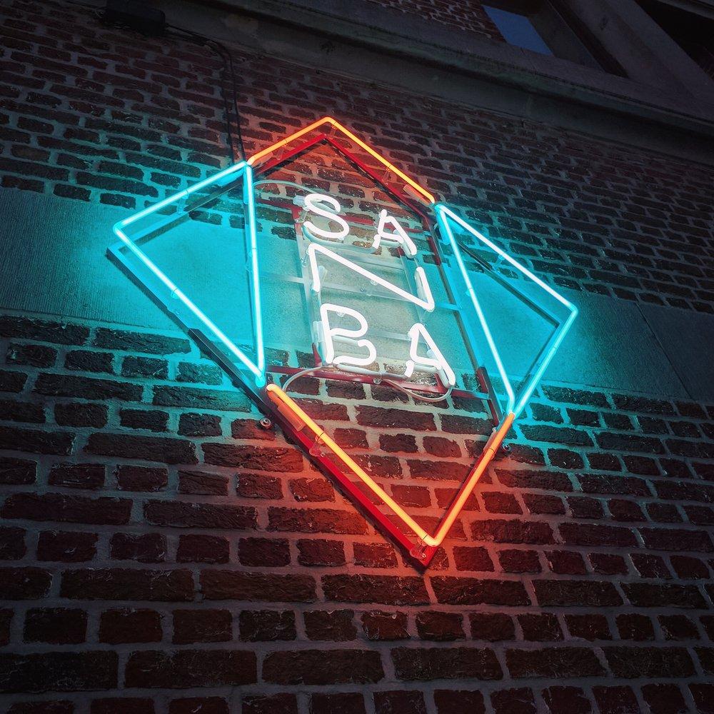 Neon_gevelreclame SANBA Antwerpen