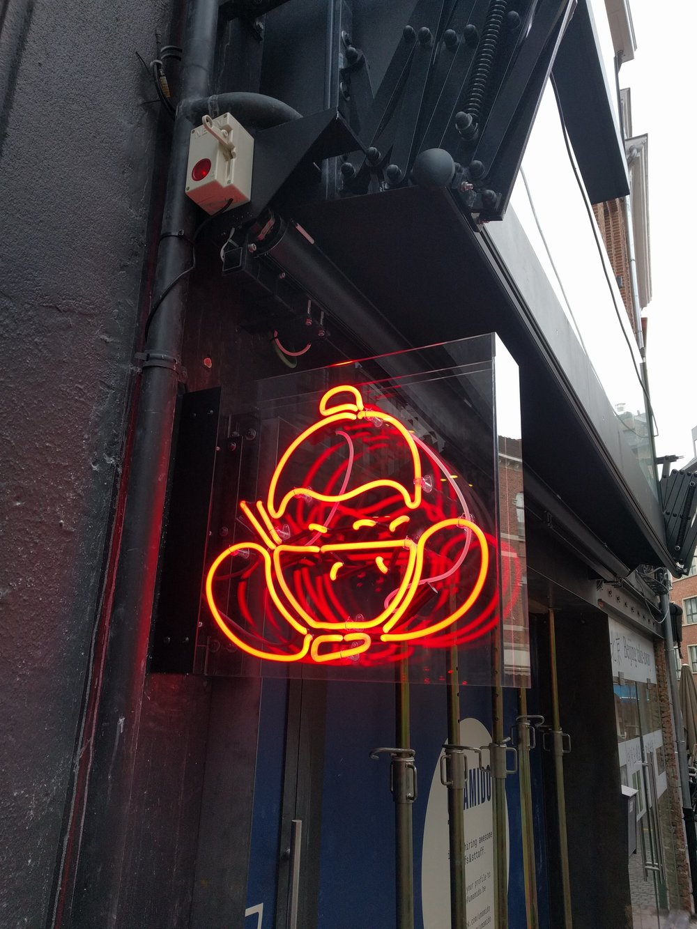 Neon_bord Leuven
