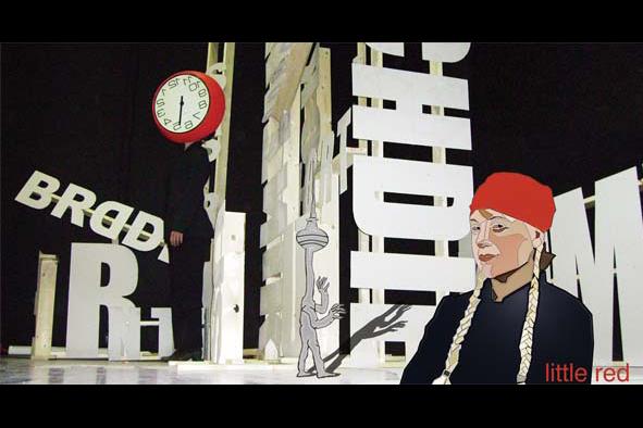 littler red, 2006, poster