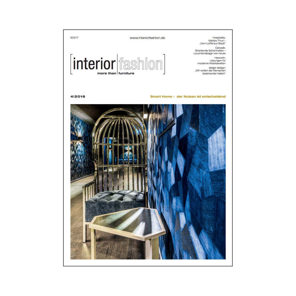 Interior Fashion, May 2016   View PDF