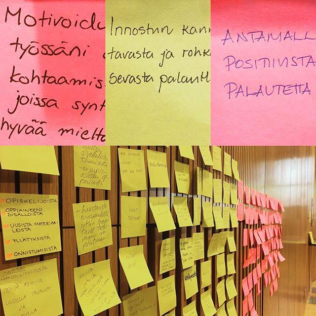 Kuinka innostaa ja motivoida? #koulukehittyy #opshautomot