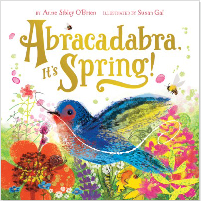 """Winter turns to spring in this lyrical book that celebrates the magic of nature and the changing seasons. Eleven gatefolds open to recreate the excitement and surprise of spring's arrival""     - Abrams Appleseed"
