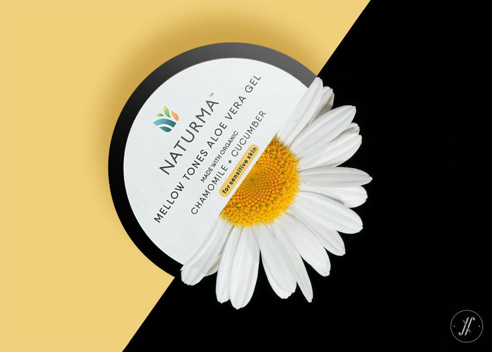 Yellow Fishes Branding Consultancy Naturma Natural Cosmetics and Skin Care Branding Case Study Aloe Vera Gel Tub Packaging Design Natural Cosmetics Design Packaging.jpg