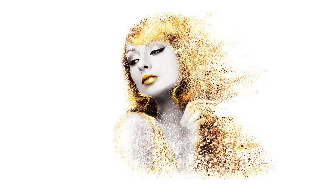 Yellow Fishes Branding Agency Mumbai Que Premium Luxury Cosmetics Branding London British Branding Skin care Golden Spiral Fibonacci Spiral golden header