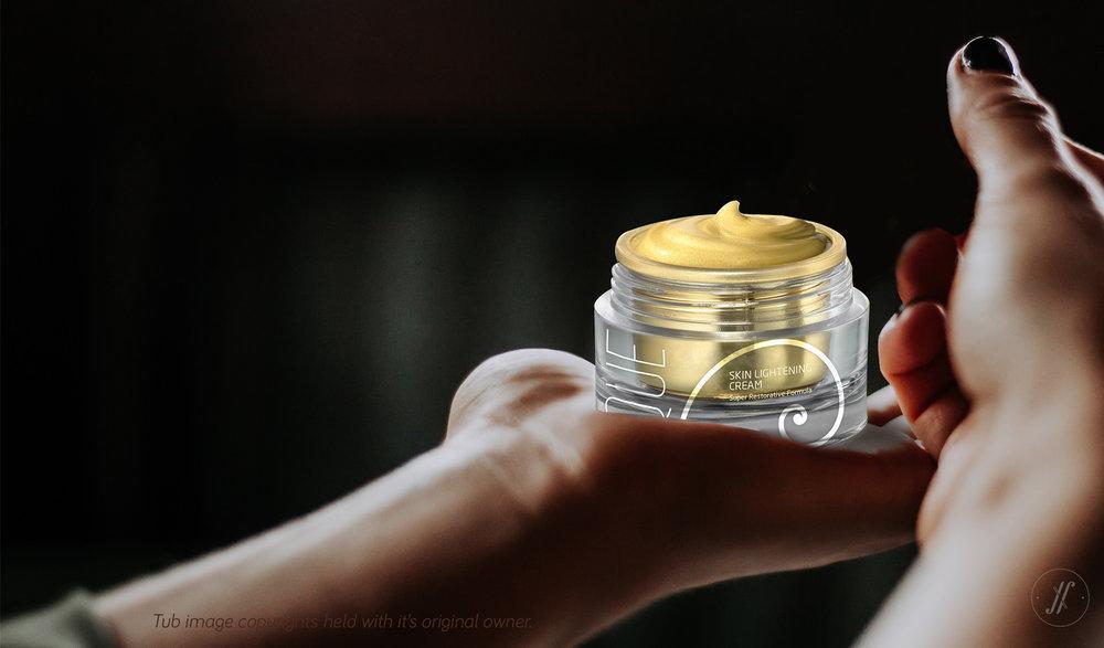 Yellow Fishes Branding Agency Mumbai Que Premium Luxury Cosmetics Branding London British Branding Skin care Golden Spiral Fibonacci Spiral cream pacakging design award winning agency