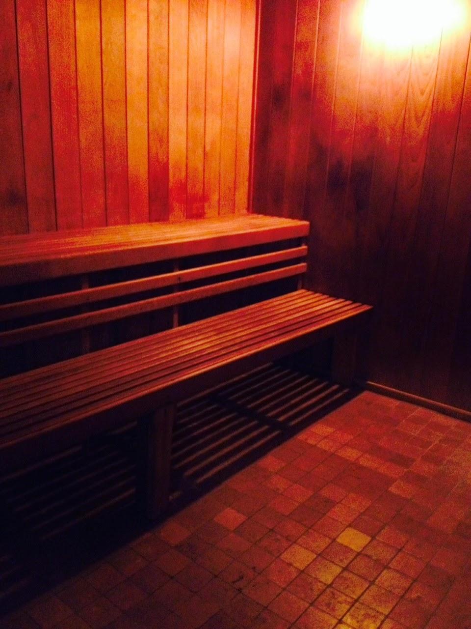 Sauna at All Sport Fishkill