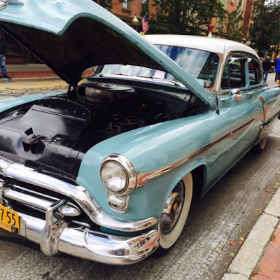 A classic car on display at Beacon's 4th Annual Car Show