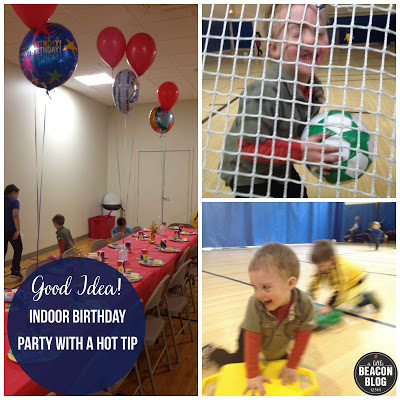 An Indoor Birthday Party At All Sport Is One Of The Easiest