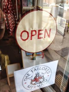 Open! The Tailored Mermaid