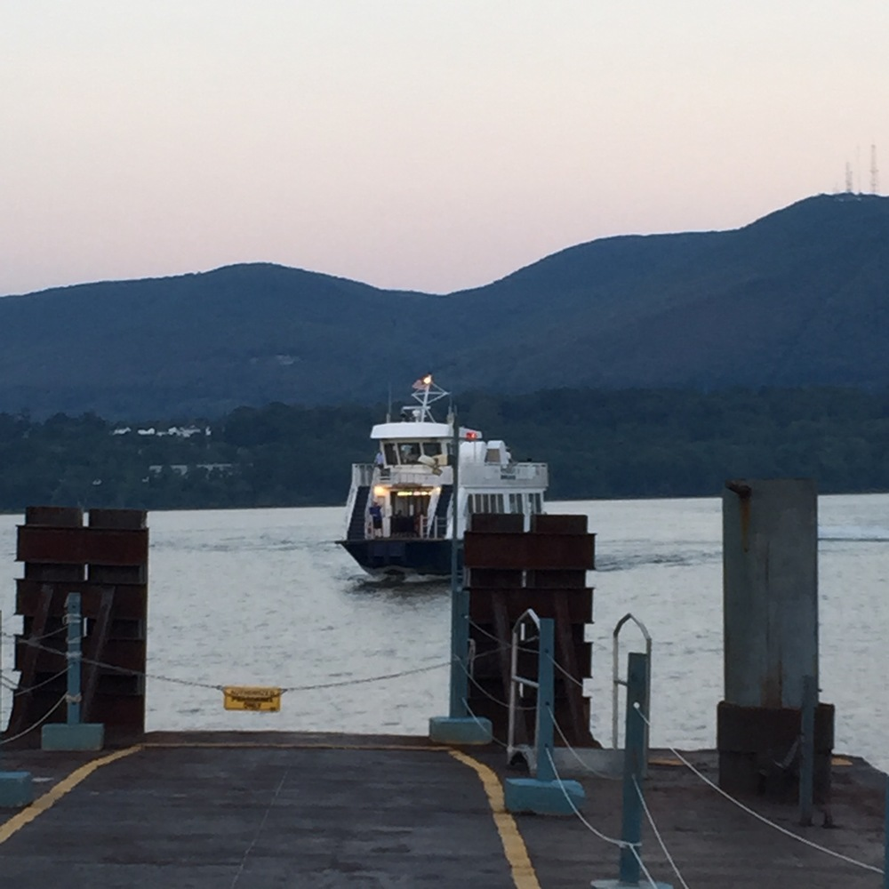 The Newburgh-Beacon Ferry as it approaches the Beacon dock from Newburgh. Photo Credit: Katie Hellmuth Martin