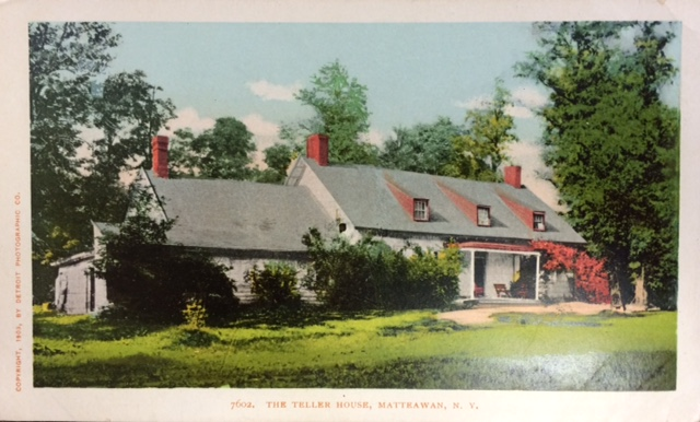Madam Brett's house, the location for the meeting of a chapter of the Daughters of the American Revolution (DAR) when meeting to select their chapter name. Katherine Wolcott Verplanck was a founding member. Photo Credit: Published with permission from The Beacon Historical Society.