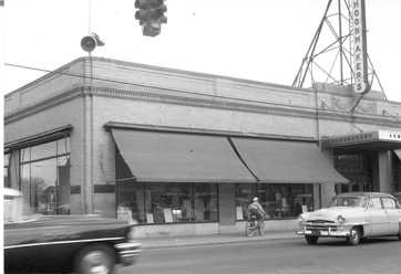 The old Schoonmaker's Department Store on the corner of of North and South Chestnut Avenue and Main Street by Rite Aid.