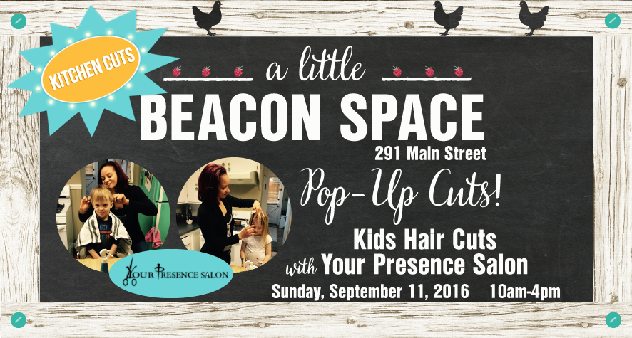 This article is presented by A Little Beacon Space, where you're invited to Kitchen Cuts and Face Painting, an event for ragamuffins to get a quick hair cut for school, and get a little face painting done! Details here.