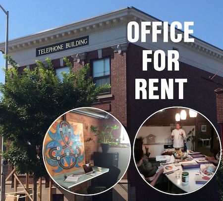 Office for rent in the lower level of The Telephone Building. Call Deborah Bigelow to make an appointment to view: 914-720-9029