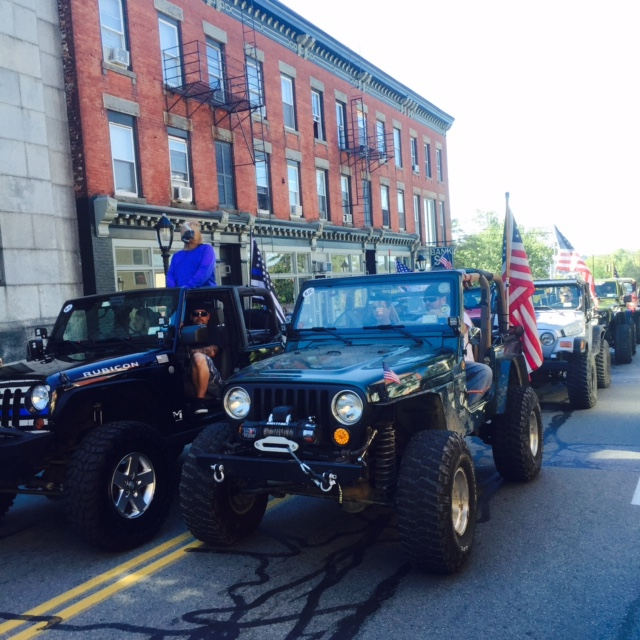 Jeepers Spotted in the Parade! If you have estimates on how many Jeepers were in this Spirit of Beacon Parade, please let us know in the comments! we estimated about 30.