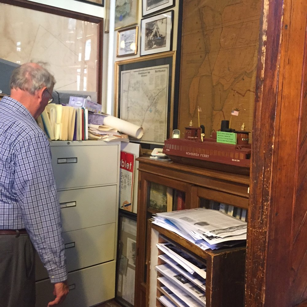 Robert Murphy, president of the Beacon Historical Society since 1998, has written its story-filled newsletter since 1981.