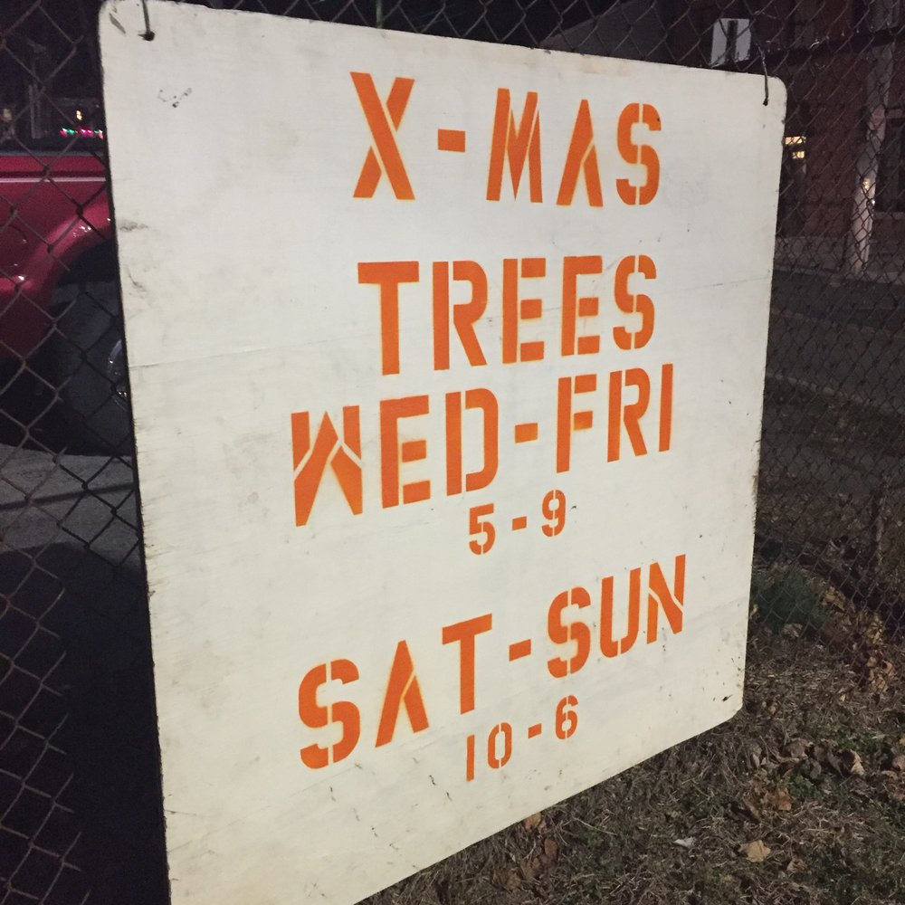 The Beacon Fire Engine Company's Christmas tree lot usually keeps hours consistent year to year. Photo Credit: Katie Hellmuth Martin
