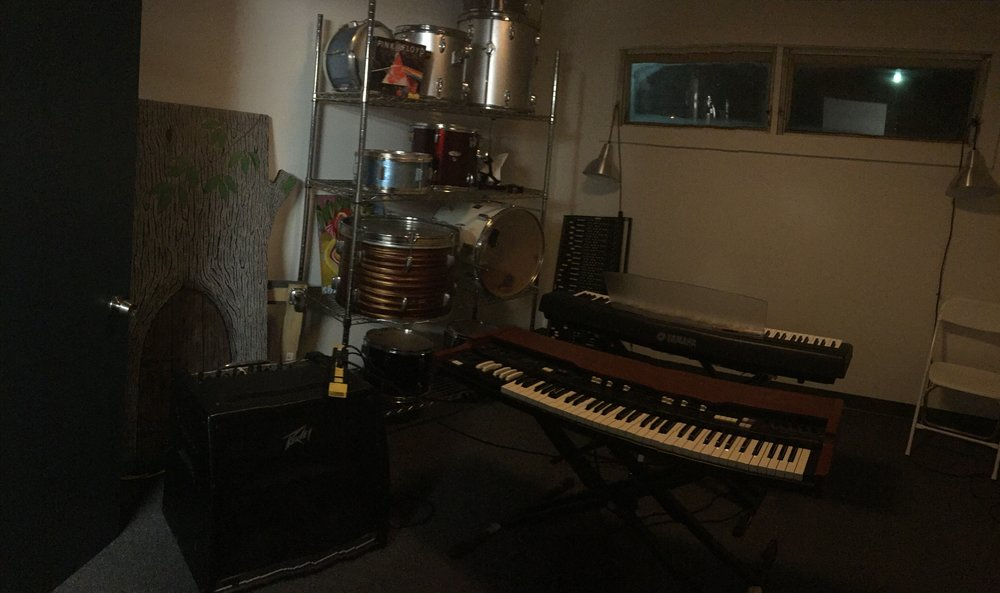 One of several private music rooms inside of Beacon Music Factory. Photo Credit: Katie Hellmuth Martin