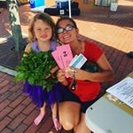 Beacon G4G recipient Sam Brittain and her daughter Charlie.  Photo Credit: Beacon Farmers' Market
