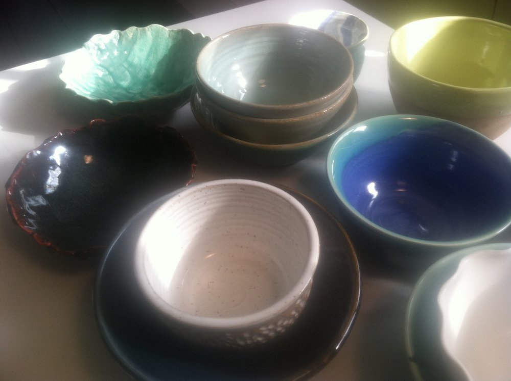Even more artisan-made bowls will be available for $25 at the Soup for Greens fundraiser.