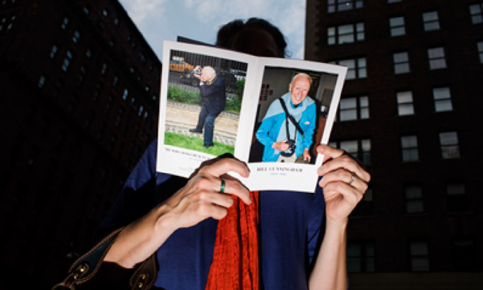 """""""On the street with bill cunningham"""" at fovea exhibitions"""