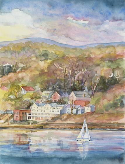 claudia engel At Bannerman Island Gallery