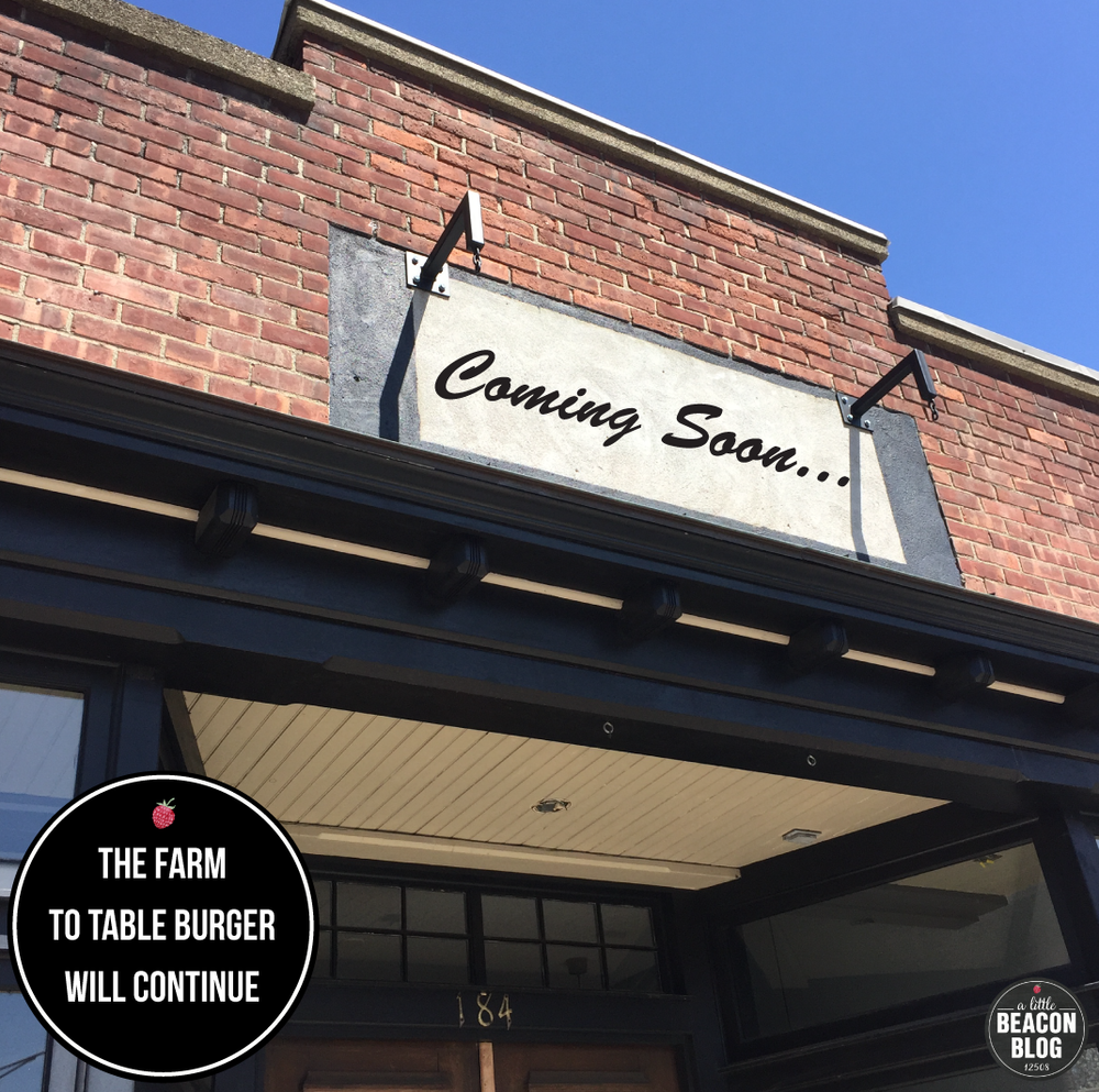 The Poppy's sign has come down, but the space at 184 Main Street known for farm-to-table burgers will open soon under new ownership. fear not: Beacon will keep its burger joint!