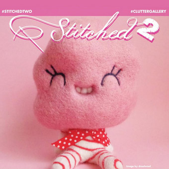 """""""stitched2"""" at Clutter Magazine Gallery"""