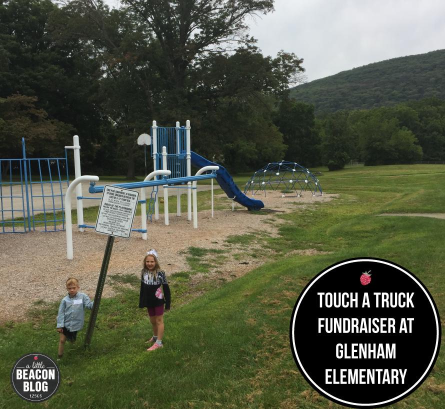 The Glenham Elementary School playground
