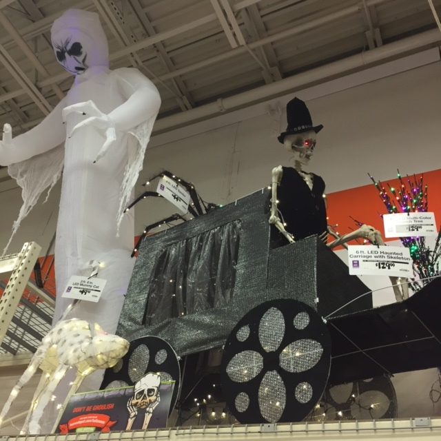 Home Depot Flexible Props : The source for halloween yard art and scary props a home