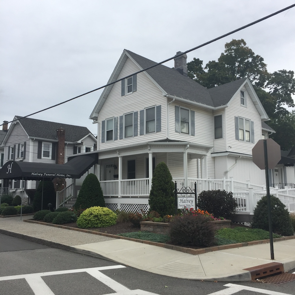 The Halvey Funeral home at 24 Willow St., soon to relocate to 2 Beekman. The home will be put up for sale on the residential market.  Photo Credit: Katie Hellmuth Martin