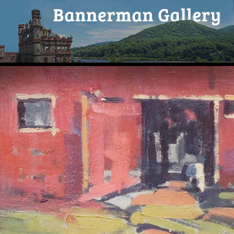 At Bannerman Island Gallery