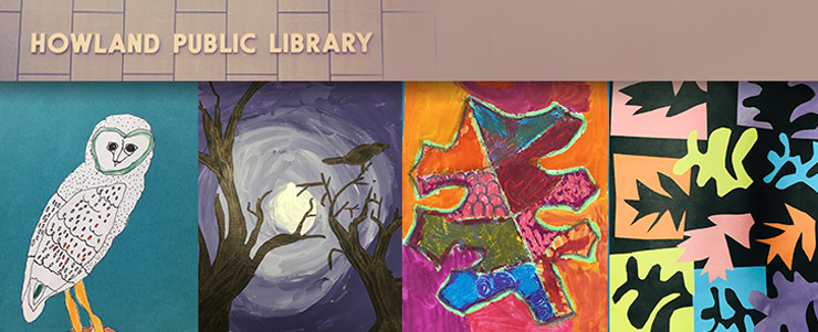 Art is Elementary,at howland library