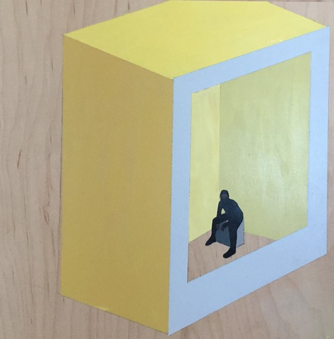 """Yellow Box"" by margot kingon, in  Yellow Wallpaper Revisited  at howland library"