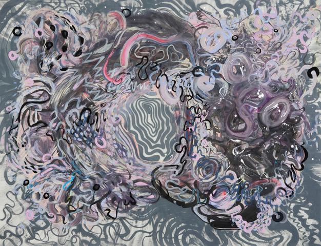 """Ariadne's thread,"" by Paola Ochoa, at Matteawan Gallery"
