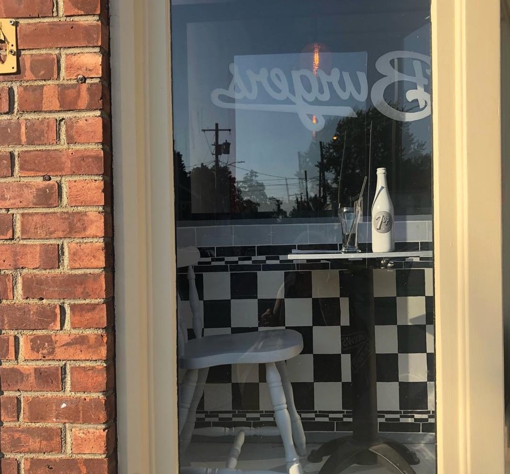 Window:  Meyer's Olde Dutch (MOD), 184 Main Street  Artist:  Erica Hauser  Photo Credit:  Windows on Main