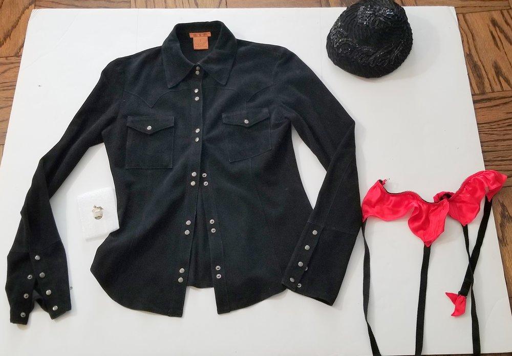Sueds shirt,sequin hat,Natorie garter.jpg