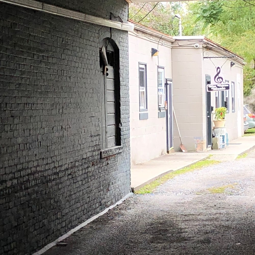 Miss Vickie's Music, down the alley near Mr. Bell's barbershop.  Photo Credit: Katie Hellmuth Martin